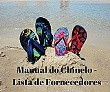 Manual do chinelo - lista de fornecedores