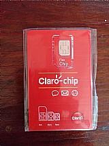 Chip pos pago 4g da claro acesso a internet