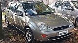 Ford focus hatch 2002/2003,  cor dourado,  completo,  bancos de couro,  pneus novos