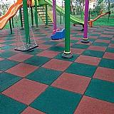 Piso de borrachas para playgrounds