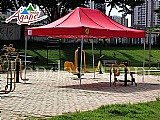 Tendas ágape sanfonadas 4, 5x3