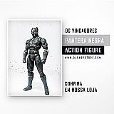 Boneco pantera negra - action figure - frete grátis
