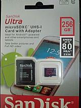 Cartao micro sd 256gb sandisk para smartphone