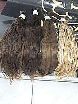 Cabelos naturais para mega hair.