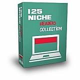 Pacote com 125 cabecalhos para site ou blog
