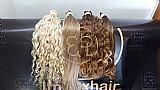 Mega hair,  apliques,  alongamentos,  perucas e etc