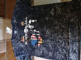 Camiseta black skull estonada