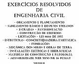 Exercicios resolvidos de engenharia civil – concurso publico