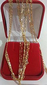 Corrente de ouro cartier ouro 18 k macica