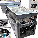 Impressora led uv epson profissional com esteira automatica para gravacao em capas celular, acrilico,  outros