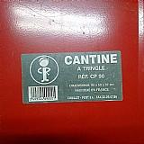 Caixa cantine metal 90 (130 litros)