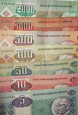 Troco cedulas de kwanza angola por moedas