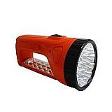 Lanterna luminaria recarregavel 15 17 leds  calidade