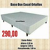 Base box casal ortoflex