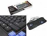 Teclado para computador usb keyboard oferta ótima