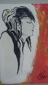 Quadro a oriental de parede estilo impressionista