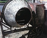 Betoneira ferro fundido
