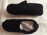 Sapatilhas em croche