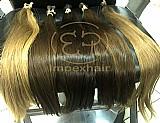 Faixas, naturais, apliques de cabelo