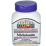 21st century,  melatonina,  5 mg,  120 comp,  a pronta entrega