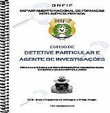 Curso de detetive particular  a distancia para todo brasil.