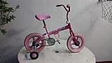 Bicicleta caloi rosa aro 12