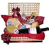 Cestas de queijos e vinhos no sacoma-frete gratis