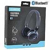 Fone de ouvido bluetooth headphone k1 - kimaster - preto