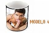 Caneca porcelana erotica