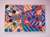 Quadro abstrato geometrico