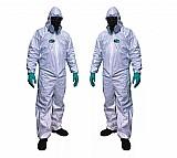 Macacao seguranca tnt pintura produtos quimicos branco