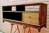 Rack para televisao/aparador em madeira macica