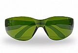 Óculos sport seguranca leopardo lente verde anti-risco