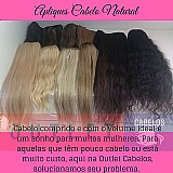 Aplique cabelo natural tic tac
