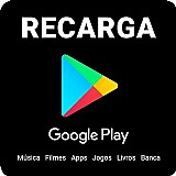 R$10 em recarga google play - credito playstore online - pin envio imediato!