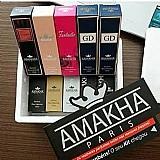 Kit de perfumes importados