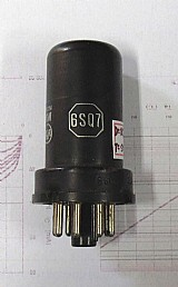 Valvula eletrônica antiga rca tipo 6sq7.- 254 -