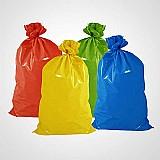 Saco de lixo para coleta seletiva