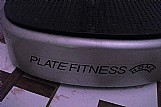 Plataforma vibratoria plate fitness