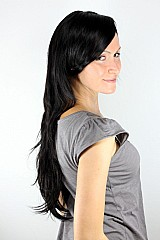 Peruca importada de cabelo sintetico muito parecido com cabelo humano
