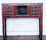 Belissimo aparador em madeira macica demolicao rustica