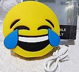 Carregador portatil power supply emoji risada