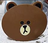 Carregador portatil power supply emoji urso