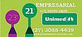 Unimed empresarial ace-bsi tabelas (27) 3055-4439