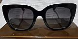 Óculos de sol feminino armacao verde/vermelho gucci