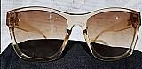 Óculos de sol feminino translucido chanel
