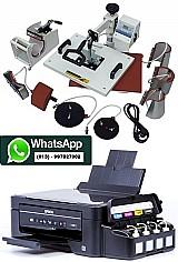 Kit monte seu negocio - prensa térmica 8 em 1 para  -  sublimaçãoimpressora epson l375 ( semi nova) - r$2600, 00