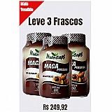 3 frascos - maca peruana 500mg - 60 capsulas