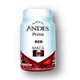 Andes prime red maca - andes 120 caps