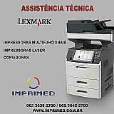 Assistencia autorizada impresoras lexmark goiania goias